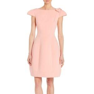 Teri Jon Pink Bow Detail Dress